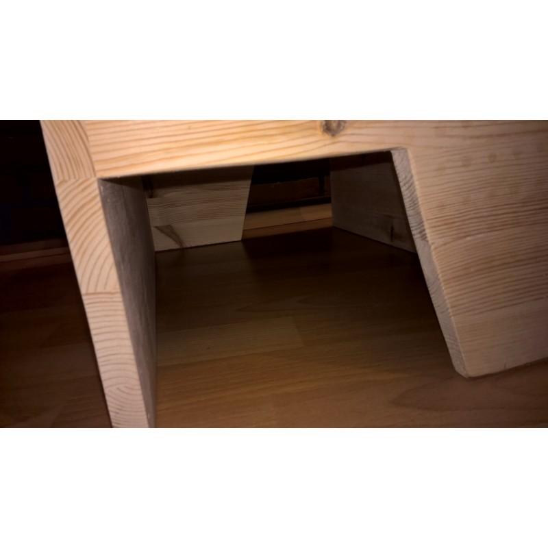 kaninchenhaus cool ca 60x40x32cm das haus mit. Black Bedroom Furniture Sets. Home Design Ideas